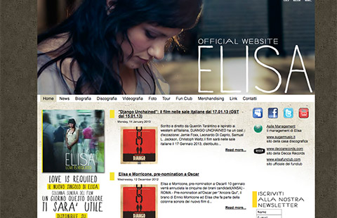 Elisa Official Site